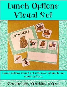 Visual Lunch Option Book