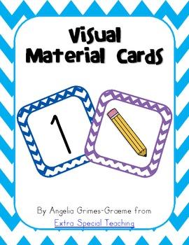 Visual Material Cards - Freebie!