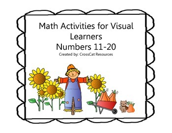 Math Activities for Visual Learners Numbers 11-20 Fall Theme
