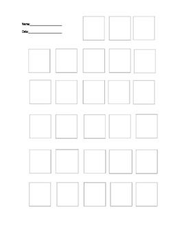 Visual Math Block Worksheet