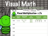 Visual Math- Single Digit Multiplication