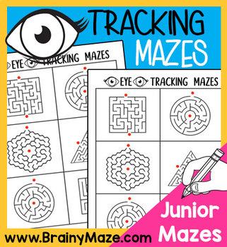Visual Mazes: Easy Eye Tracking Mazes