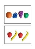 Visual Memory Fruit Cards