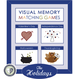 Independence Day Game in Visual Memory Matching Games THE HOLIDAYS