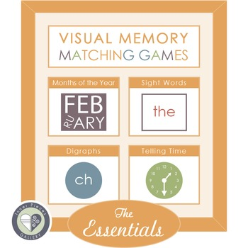 Visual Memory Matching Games THE ESSENTIALS