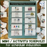 Visual Mini-Schedules / Activity Schedules for Special Education