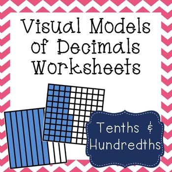 Visual Models Of Decimals Worksheets By Amazing Mathematics Tpt