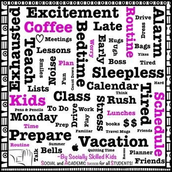 Visual: Monday Morning Teacher