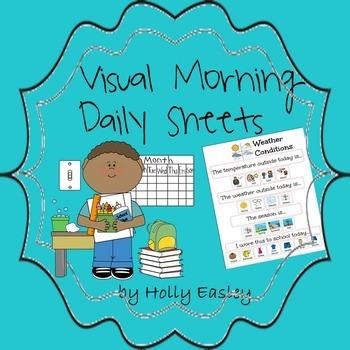 Visual Morning Daily Sheets