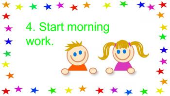 Visual Morning Procedures