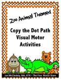 Visual Motor: Copy the Dot Path Worksheets
