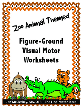 Visual Motor:  Figure-Ground Worksheets