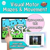 Visual Motor Integration Mazes & Gross Motor for Telethera