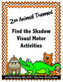 Visual Motor:  Match the Shadow Worksheets and Card Sort Game
