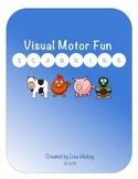 Visual Motor - Scanning Worksheets
