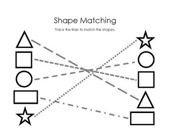 Visual Motor Shape Matching