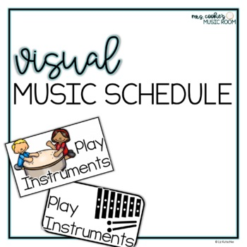 Visual Music Schedule Cards