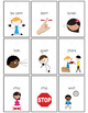 Visual Necklace:  Behavior Management and Communication in Autism Class