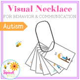 Visual Necklace:  Behavior Management and Communication in
