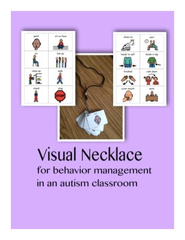 Visual Necklace: Behavior Management in an Autism Classroom