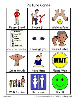 Visual Necklace Cues and Prompts