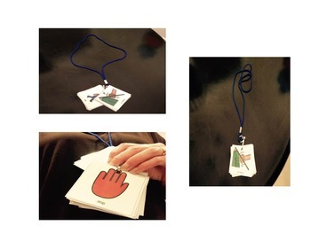 Visual Necklace for Students with Autism
