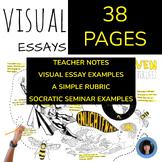 VISUAL NOTETAKING   VISUAL ESSAYS   PRODUCE AND CREATE ORI