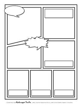 Visual Notetaking Printable Templates #2 for Visual Sketchnotes