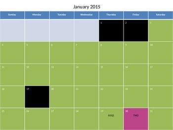 Visual Pacing Guide 2014-2015