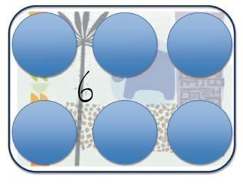 Visual Patterns (Dice) Common Core with a Safari Theme