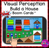 Visual Perception Build a House Boom Cards for Occupationa