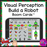 Visual Perception Build a Robot BOOM Cards for Occupationa