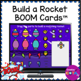 Visual Perception Build a Rocket Boom Cards for Occupation