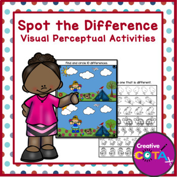 Visual Perception: Spot the Difference Seasons