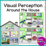 Visual Perception Spot the Difference Around the House - Occupational Therapy