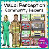 Visual Perception Spot the Difference Community Helpers