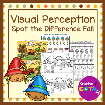 Visual Perception Spot the Difference Fall