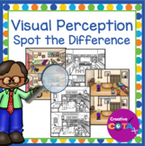 Visual Perception: Spot the Difference School - Occupational Therapy