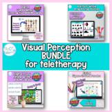 Visual Perception Teletherapy Bundle: BOOM CARDS