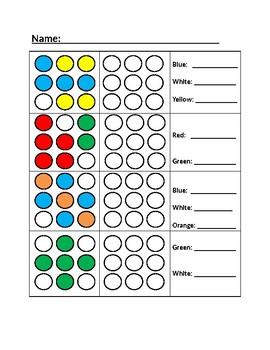 Visual Perception Worksheet