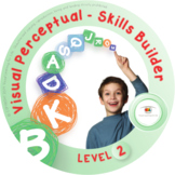 Visual Perceptual Skills Builder - Level 2 Bundle (All 700
