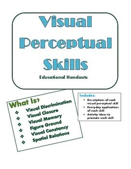 Visual Perceptual Skills - Educational Handouts