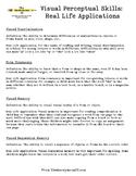 Visual Perceptual Skills: Real Life Applications