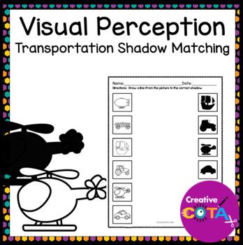 Visual Perceptual Transportation Shadow Matching