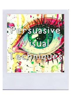 Visual Persuasive Techniques Posters