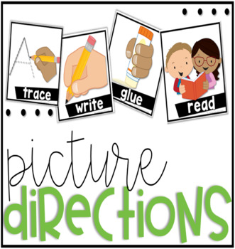 Visual Picture Direction Cards
