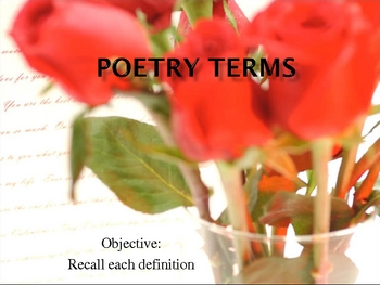 Visual Poetry Terms