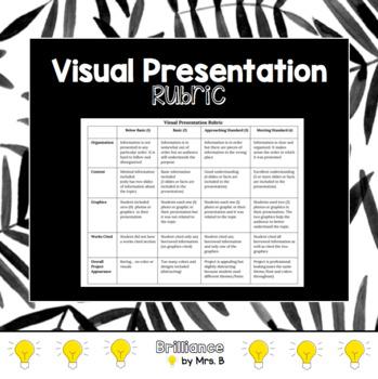 Visual Presentation Rubric Google Docs Or Google Slides