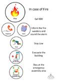 Visual Prompt - Fire Evacuation