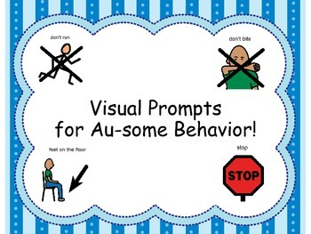 Visual Prompts for Au-Some Behavior
